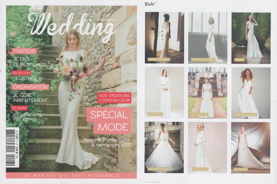 Parution dans Wedding magazine